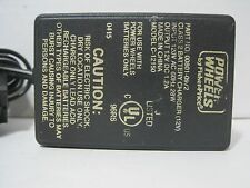 Fisher Price Power Wheels Class 2 Battery Charger (12V) Part No. 00801-0972.