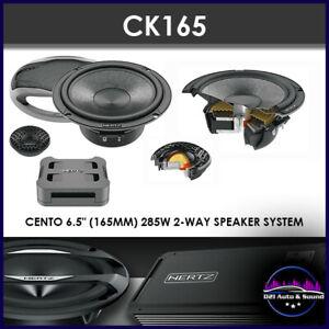 """HERTZ CENTO CK165 SPLITS 6.5"""" 2-WAY 285W COMPONENT SPEAKERS"""