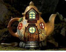 New Solar Fairy House - Fairy Tea Pot Cottage