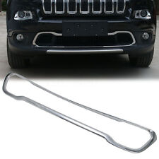 ABS Front Bumper Lower Grill Grille Cover Lid Trim For Jeep Cherokee 2014-2016