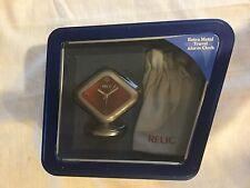 Relic - Retro Metal Travel Alarm Clock, New and Unused in Box