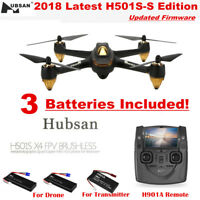 Hubsan H501S Pro X4 Drone 5.8G FPV Brushless 1080P Camera Quadcopter GPS RTH USA