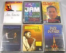 8 x Jazz - DVD Paket - Charlie Parker Gil Evans Ron Carter - Jazz Live Concerts