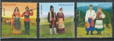 Moldova 2017-2019 Ethnicity: Romani, Gagauz, Ukrainians 3 MNH stamps