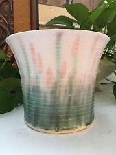 Vintage Mid Century Modern /Hollywood Regency Ceramic Pottery / Vase Planter