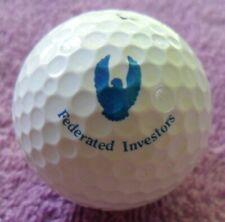 Federated Investors Collector Blue Eagle Collectible Logo Golf Ball Slazenger 2