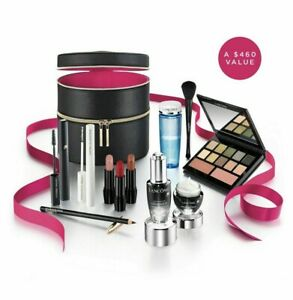 Lancome 2019 Holiday Glow Collection Beauty Box 11 Full Size Set -NEW WAARM