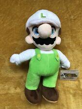 """Super Mario Plush Teddy - Fire Luigi  Soft Toy - Size 8"""" / 20cm NEW & Tagged"""