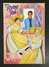 """THE FLYING NUN"" 1968, 1969 ARTCRAFT UNCUT PAPER DOLLS VINTAGE"
