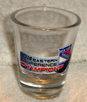 NY RANGERS 2014 NHL EASTERN CONFERENCE CHAMPS STANLEY CUP SHOT GLASS