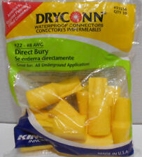 Lot of 20 NEW DRYCONN WATERPROOF WIRE CAP CONNECTORS #22- #8 AWG 31556