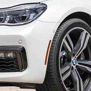 Genuine BMW 2016+ 7-Series G11/G12 Front Bumper Left Reflector Amber Marker