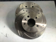 FORD FOCUS MK3 1.6 EcoBoost FRONT DISCS DRILLED & GROOVED VENTED