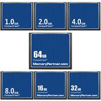 CompactFlash 1/2/4/8/16/32/64GB OEM Standard CF Memory Card Camera