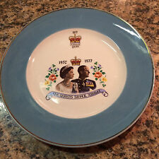 "The Queens Silver Jubilee 1952 to 1977 9"" Plate"