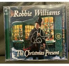ROBBIE WILLIAMS -  SIGNED  CHRISTMAS PRESENT CD  LP  - UACC RD
