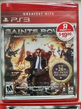Saints Row IV National Treasure Edition (2014) Brand New USA Playstaton 3 PS3