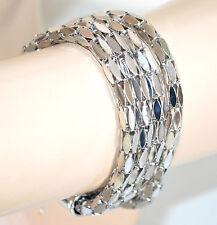 BRACCIALE donna ARGENTO bracelet armband ragazza bigiotteria idea regalo A8