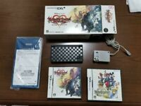 Nintendo DS i Kingdom Hearts 358/2 Days Console Limited NDS Box From Japan