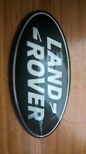 LAND ROVER GRILLE BADGE GREEN  DISCOVERY FREELANDER DEFENDER LR002717 ORIGINAL