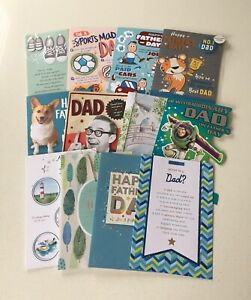 Hallmark Fathers Day Cards Brand New - Choose From Various Designs
