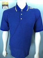 NWT Brooks Brothers Saint Andrews Links Large Golf Polo 65% Cotton 35% Polyester