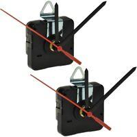 2 Stück Qualitäts-Quarz-Uhrwerk mit 3 verschiedenen Zeiger-Sets Quarzuhr Quartz