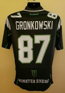 ROB GRONKOWSKI MONSTER AUTHENTIC EMBROIDERED STITCHED JERSEY - Adult Large