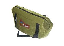 Trasportino verde medio borsa trasporto di gatti, cani di piccola taglia, cricet