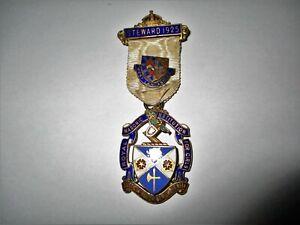 Silver Gilt Royal Masonic Institution for Girls 1925 Steward Jewel