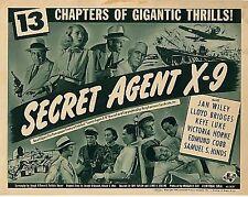 The Secret Agent X-9 (1945) - Cliffhanger Classic Movie Serial DVD Lloyd Bridges