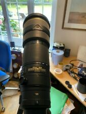 Nikon lens AF-S 200-400 1:4 GII ED Lens
