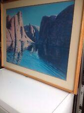 Lake Powell Utah, Print of Pastel Drawing Tom Stubbs