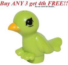 ☀️NEW Lego Friends Animal Pet Friends Lime Bird with Bright Light Orange Beak