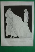 Original Page Vogue 1924 Art Deco Illustration Georges Lepape Modeles De Jenny
