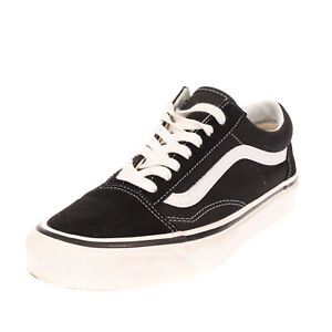 RRP €140 VANS Leather & Canvas Sneakers EU 43 UK 9 US 10 Ultra Cush Two Tone