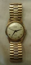 Vintage Lusina Geneve Waterproof Incabloc Wind-up Wristwatch Works Swiss Made