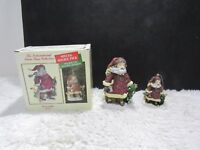"""1997 International Santa Claus Collection """"Belsnickle"""" Canada Double Pack"""