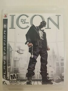 Def Jam: Icon PS3 NO MANUAL TESTED SONY PLAYSTATION EA RATED M FREE S/H