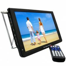 """Trexonic Portable Ultra Lightweight Rechargeable Widescreen 12"""" LED TV With HDMI"""