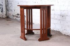 Stickley Arts & Crafts Solid Quartersawn Oak Occasional Side Table