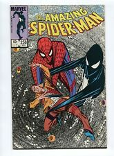 1984 MARVEL AMAZING SPIDER-MAN #258 BLACK COSTUME REVEALED AS SYMBIOTE  NM-  D11