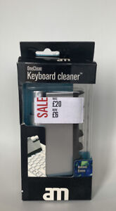 Keyboard Cleaner Sponge EazyCare Duster Spray Protects Laptops Keyboards New UK