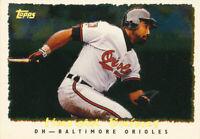 HAROLD BAINES 1995 Topps Cyberstats #130 Baltimore Orioles Baseball Card