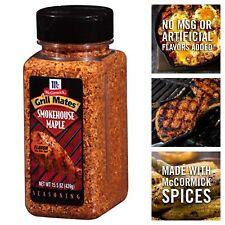 McCormick Grill Mates Smokehouse Maple Seasoning Garlic Onion Brown Sugar 15.5oz