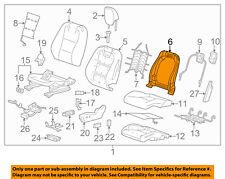 Chevrolet GM OEM 11-15 Camaro Driver Seat-Seat Back Frame Left 13598491