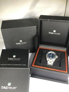 Tag Heuer Link Calibre 5 WJ201C Men's Watch - Pristine! Stainless/Me (D01044505)