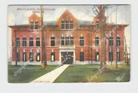 PPC POSTCARD INDIANA ANGOLA TRI STATE COLLEGE ENGINEERING BUILDING EXTERIOR