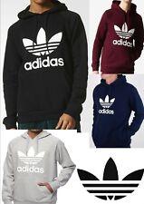 Adidas Men Originals Trefoil Fleece HOODIE **(Hooded Sweatshirt)** OD