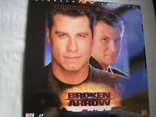 BROKEN ARROW widescreen NTSC 1996 John Travolta Christian Slater